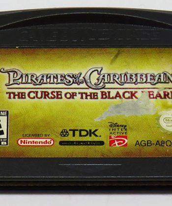 Pirates of the Caribbean: Curse of the Black Pearl CART GAME BOY ADVANCE
