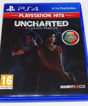Uncharted: O Legado Perdido PS4