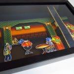 PixelBox - Streets of Rage 2 Mashup - Mega Drive shadow box