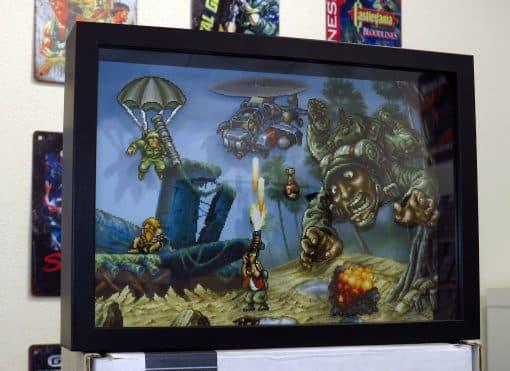 PixelBox - Metal Slug Mission 1 - Arcade-NeoGeo ShadowBox