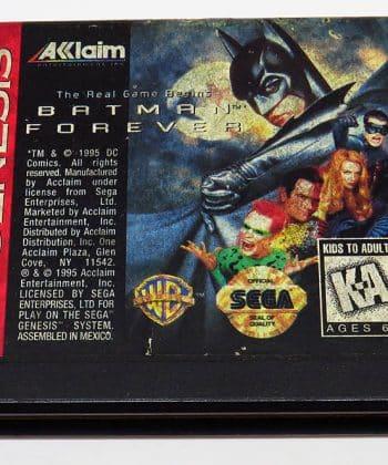 Batman Forever CART GENESIS