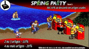 PROMO Spring Party Round 2 - Descontos em artigos usados