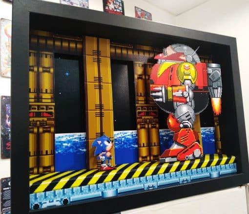 PixelBox - Sonic 2 Death Egg Robot - Sega-Mega Drive
