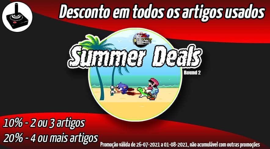 PROMO Summer Deals 2021 Round 2 - Descontos em artigos usados