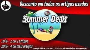Promo Summer Deals 2021 - Descontos em artigos usados