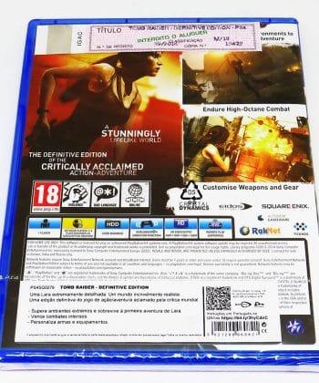 Tomb Raider - Definitive Edition PS4