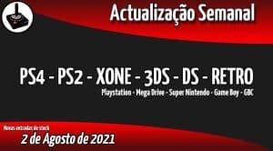 Jogos Usados PS4 - PS2 - XONE - 3DS - DS - RETRO