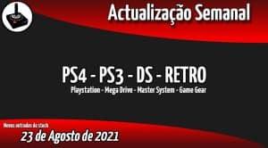 Jogos Usados PS4 - PS3 - DS - RETRO