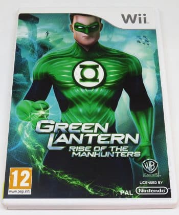 Green Lanter: Rise of the Manhunters WII