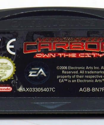 Need for Speed Carbon: Own The City CART GAME BOY ADVANCE