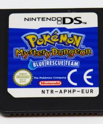 Pokémon Mystery Dungeon: Blue Rescue Team CART NDS