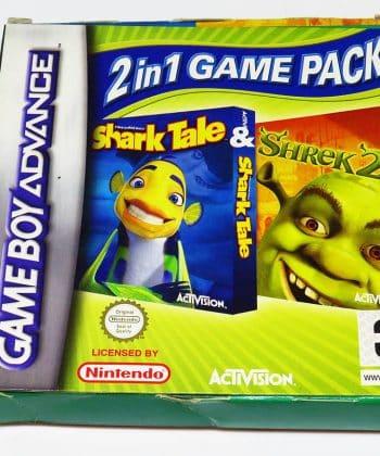 Shrek 2 & Shark Tale 2in1 Game Pack GAME BOY ADVANCE