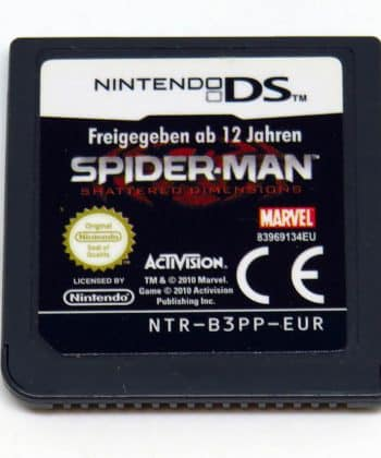 Spider-Man Shattered Dimensions CART NDS