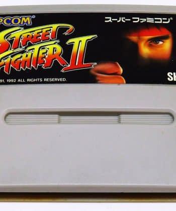 Street Fighter II CART Super Famicom (SNES)