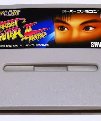 Street Fighter II Turbo CART Super Famicom (SNES)