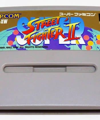 Super Street Fighter II CART Super Famicom (SNES)
