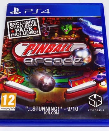 The Pinball Arcade PS4