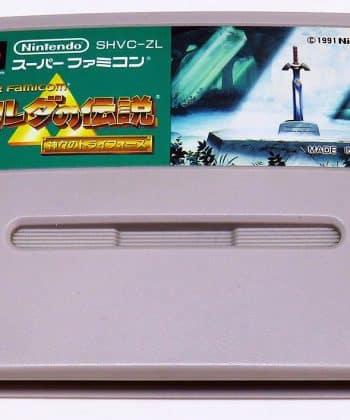 Zelda no Densetsu: Kamigami no Triforce (Legend of Zelda: A Link to the Past) CART Super Famicom (SNES)