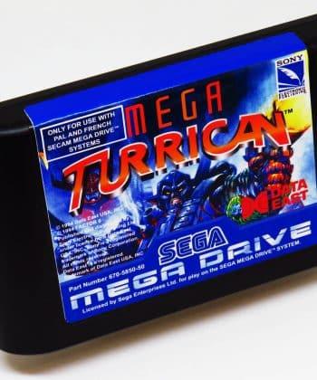 Mega Turrican (Reprodução) MEGA DRIVE