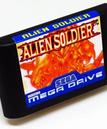 Alien Soldier (Reprodução) MEGA DRIVE