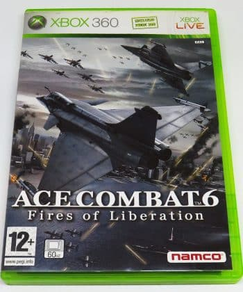 Ace Combat 6: Fires of Liberation FR X360
