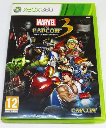 Marvel vs Capcom 3: Fate of Two Worlds FR X360
