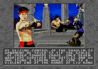 Mortal Kombat II Unlimited - Enhanced Colors (RomHack) MEGA DRIVE