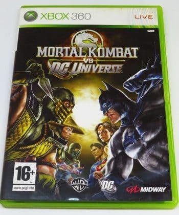 Mortal Kombat vs DC Universe FR X360