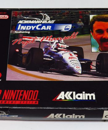 Newman Haas Indycar featuring Nigel Mansell SNES