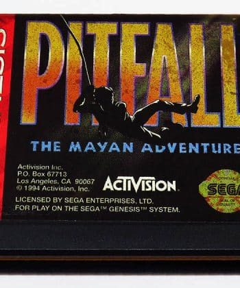Pitfall: The Mayan Adventure CART GENESIS