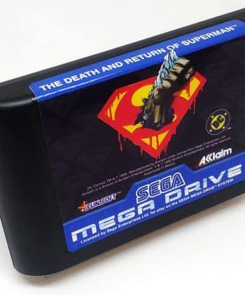 The Death and Return of Superman (Reprodução) MEGA DRIVE