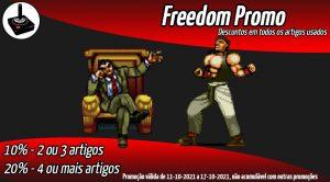PROMO Freedom - Descontos em jogos usados